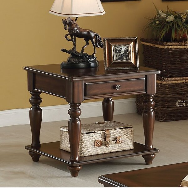 Farrel End Table With Storage By A&J Homes Studio