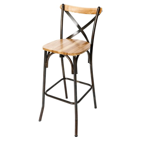 Henry 28.75 Bar Stool by BFM SeatingHenry 28.75 Bar Stool by BFM Seating