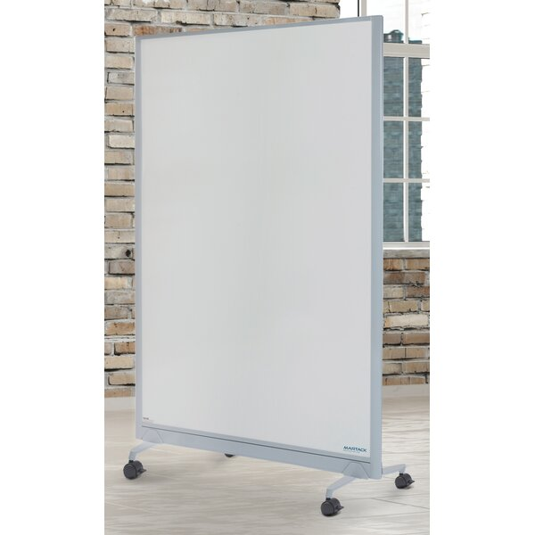 Mobile Combination Whiteboard by Martack Specialti