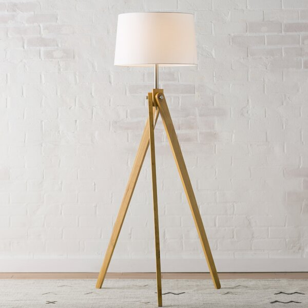 Pelli 63 Tripod Floor Lamp by Langley Street