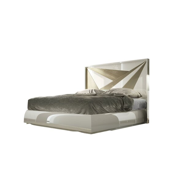 Matta King Upholstered Standard Bed by Orren Ellis