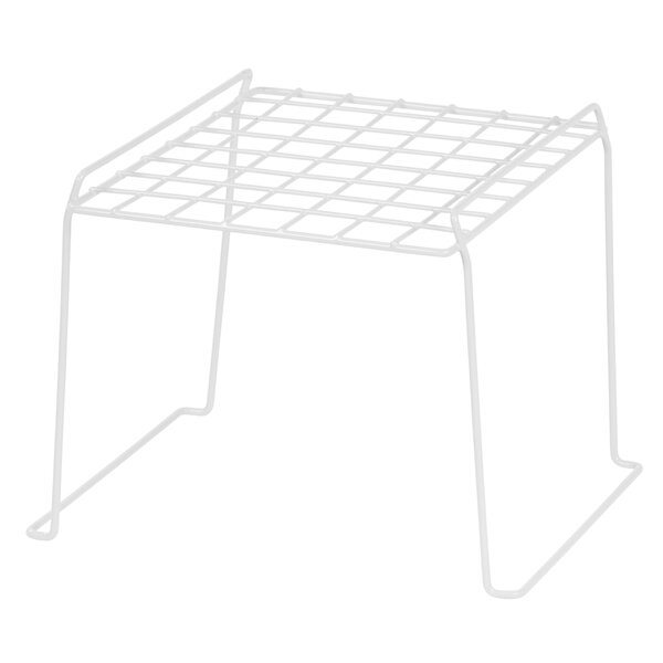 2 Tier Stackable Wire Locker Shelf (Set of 4) by IRIS USA, Inc.