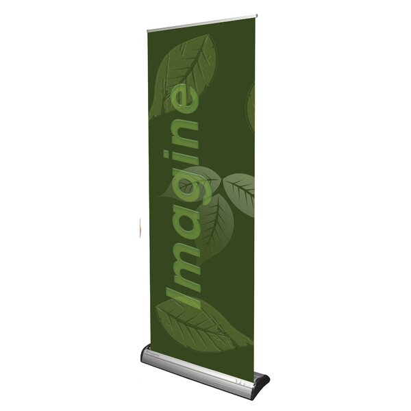 Imagine Premium Banner Stand by Exhibitor's Hand Book