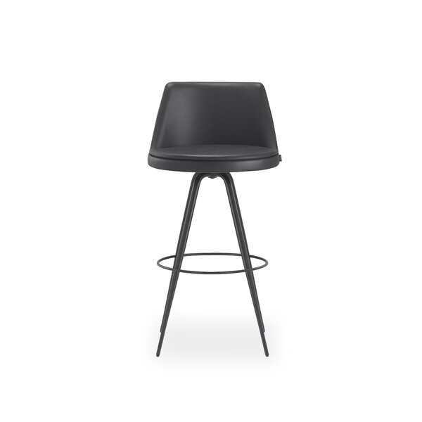 Lobo 29 Swivel Bar Stool by Brayden Studio