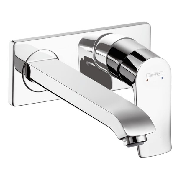 Metris Wall Mounted Faucet Trim by Hansgrohe
