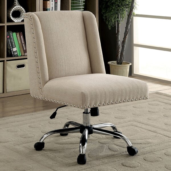 Corktown Contemporary Office Mid-Back Desk Chair by Ivy Bronx