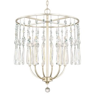 Find the perfect Nolan 6-Light Chandelier By House of Hampton