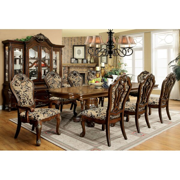 Dufault 9 Piece Drop Leaf Dining Set by Astoria Grand