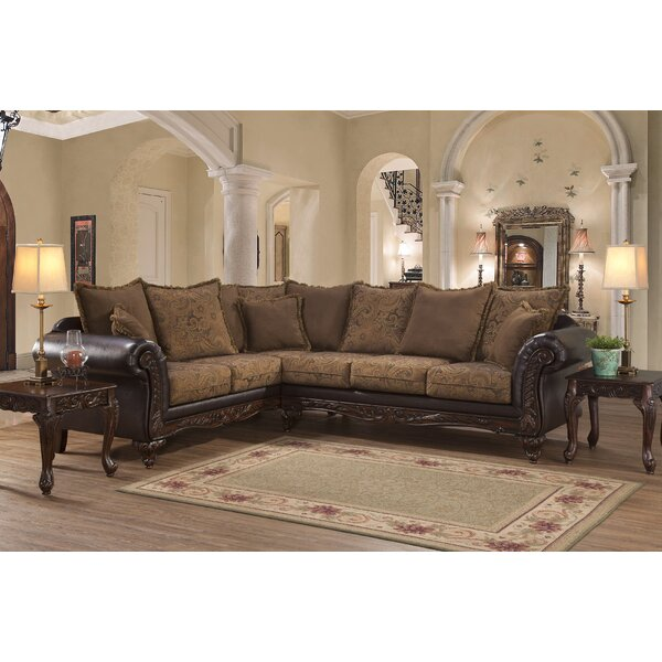 Oswego Sectional by Astoria Grand
