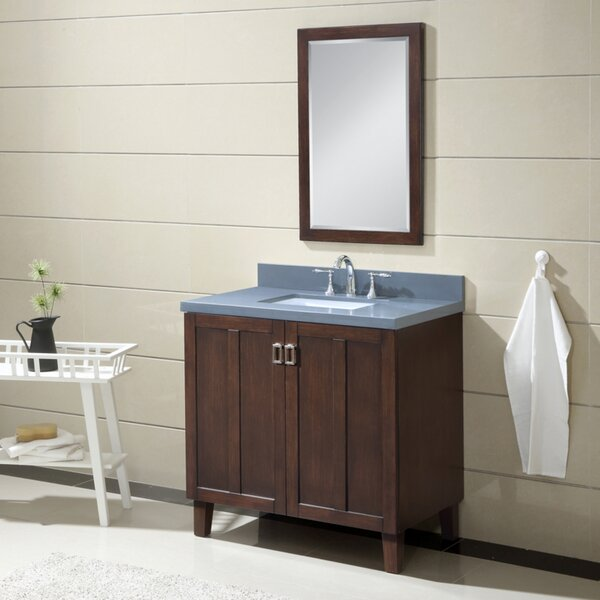 Larabee 36 Single Sink Bathroom Vanity Set by Latitude Run