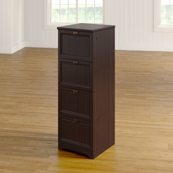 Steadham 4-Drawer Vertical Filing Cabinet by Darby Home Co