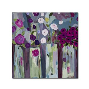 Que Sera Sera by Carrie Schmitt Painting Print on Wrapped Canvas by Trademark Fine Art