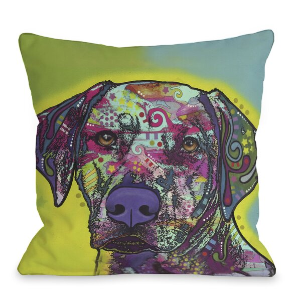 Doggy Décor Rhodesian Ridgeback Throw Pillow by One Bella Casa