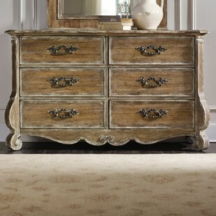 Reviews Chatelet 6 Drawer Double Dresser By Hooker Furniture