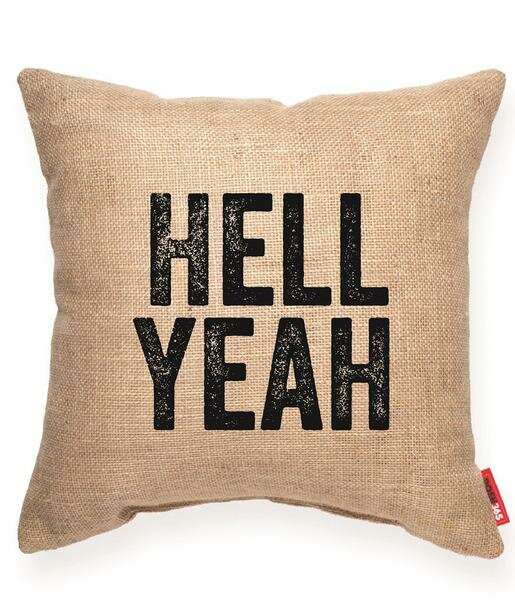 Pettis Hell Yeah Throw Pillow by Wrought Studio