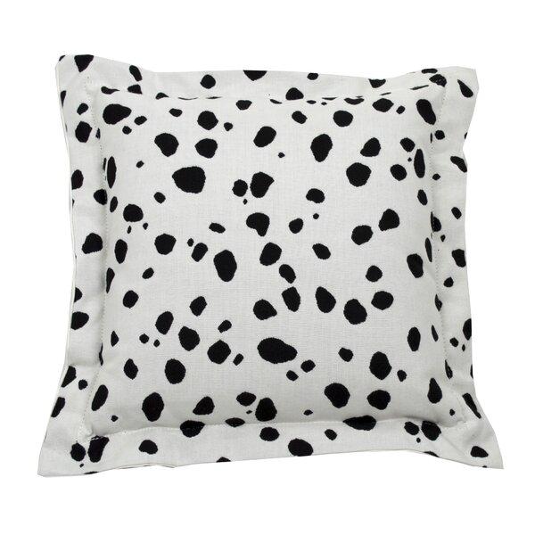 Down Animal Print Throw Pillow