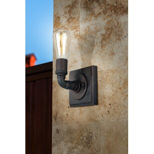Best Choices Dessert 1-Light Armed Sconce By 17 Stories