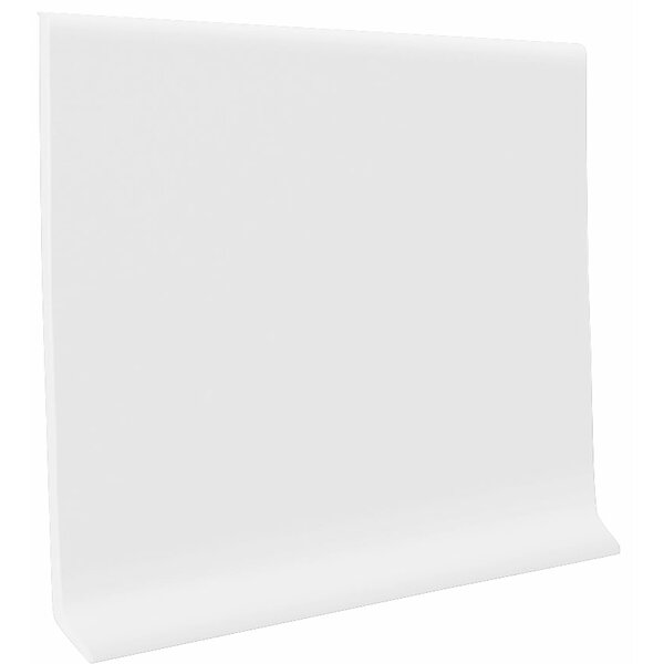 0.08 x 48 x 4 Cove Molding in Snow (Set of 30) by ROPPE