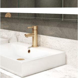 Compare prices Dia Round Single Hole Bathroom Faucet with Drain Assembly BySymmons