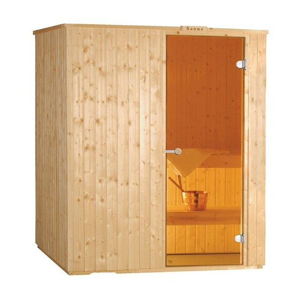 3 Person Traditional Steam Sauna by Baltic Leisure