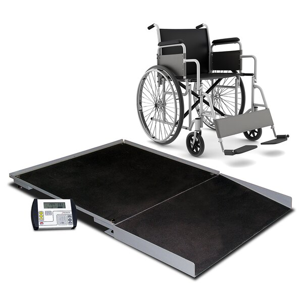Digital Geriatric Stationary Wheelchair Scale by Detecto