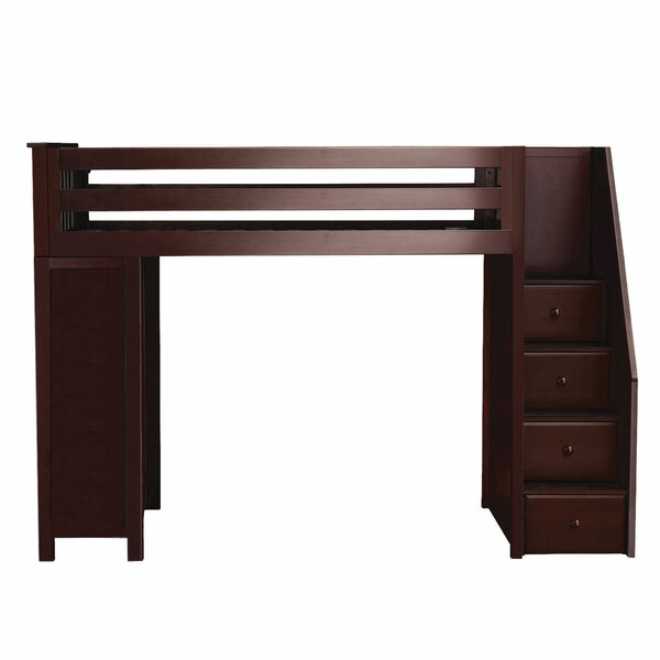 Ayres Bunk Bed with Staircase by Harriet Bee