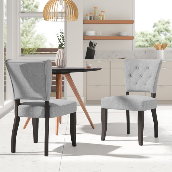 Sundee Upholstered Dining Chair (Set of 2) by Brayden Studio