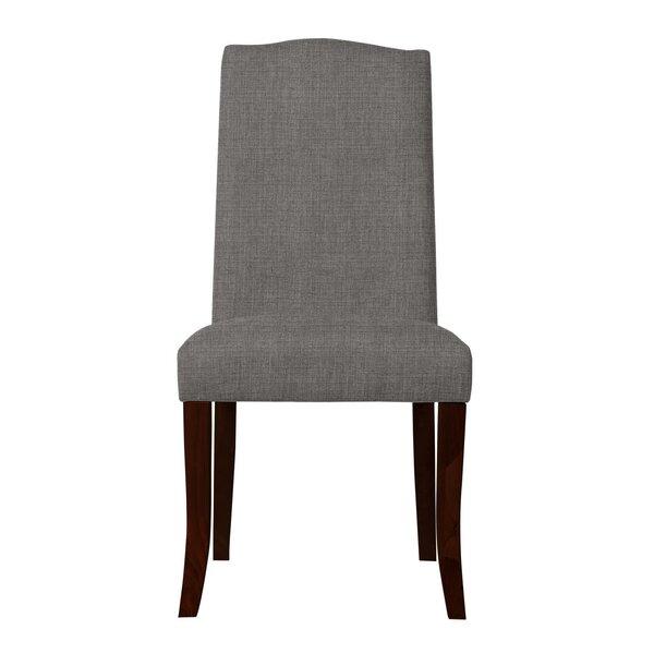 Guttenberg Wood Legs Parsons Chair (Set of 2) by Latitude Run