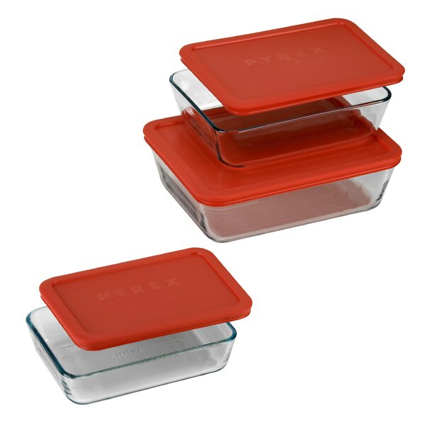 6 Piece Bakeware Set by Pyrex