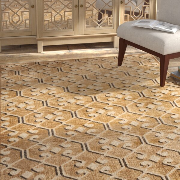Saint-Michel Taupe Area Rug by Bungalow Rose