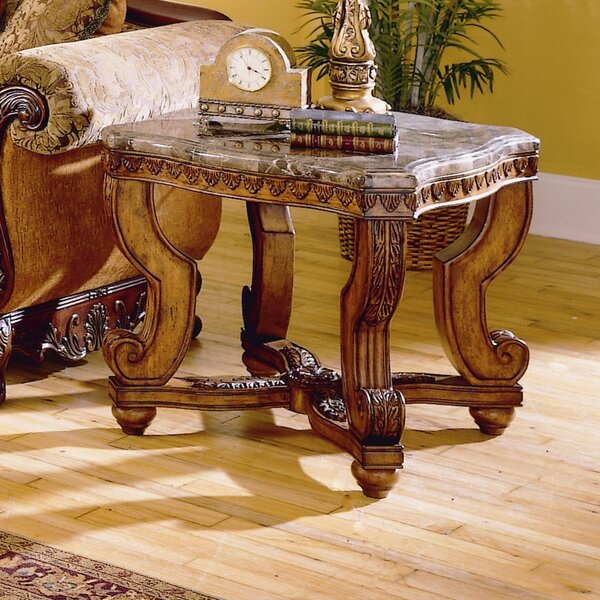 Chiltern End Table by Astoria Grand