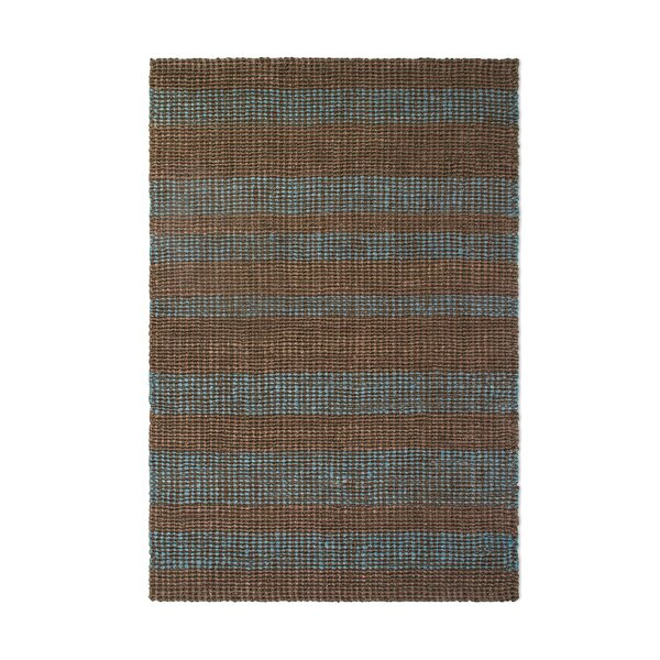Delmer Hand-Woven Brown/Gray Indoor/Outdoor Area Rug by Highland Dunes