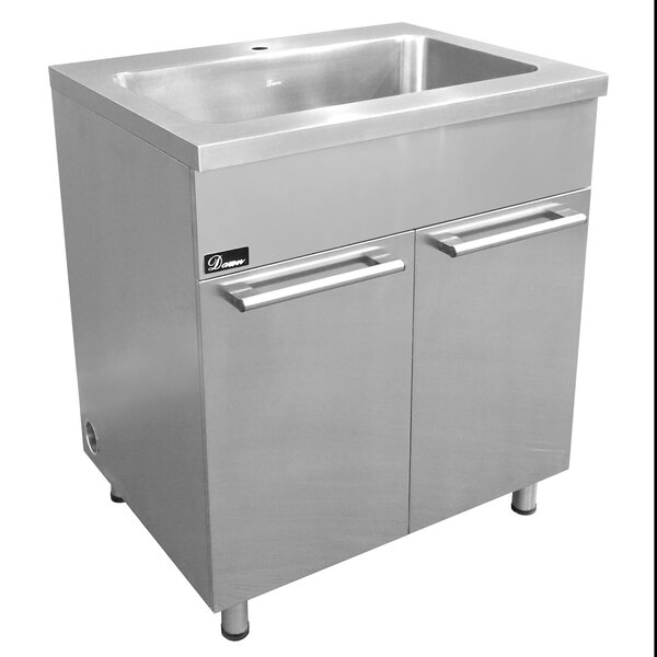 30 Stainless Steel Vanity Base by Dawn USA