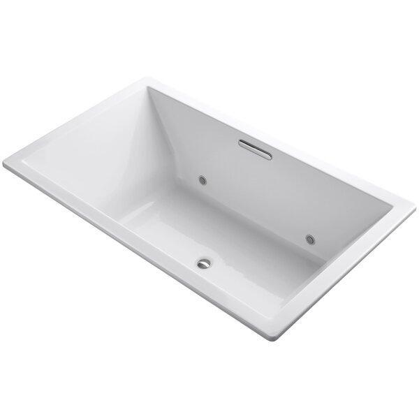 Underscore Vibracoustic 72 x 42 Whirpool Bathtub by Kohler