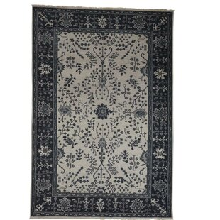 One-of-a-Kind Organ Hand-Knotted Bone White Area Rug ByOne Allium Way