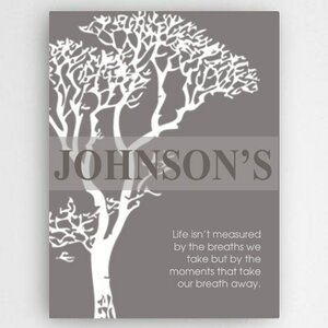 Inspirational Graphic art on Wrapped Canvas by JDS Personalized Gifts