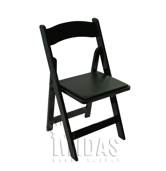 Classic Wood Folding Chair by Midas Event Supply