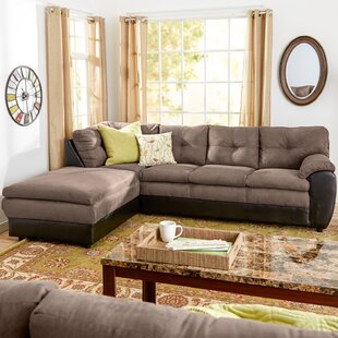 Affordable Brewster Reversible Sectional By Andover Mills