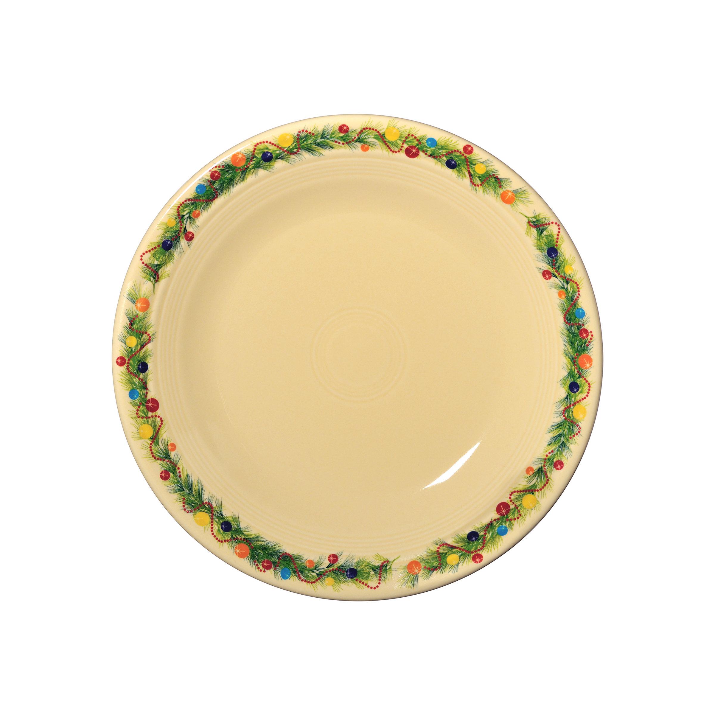 Fiesta Christmas Tree Dinner Plate & Reviews   Wayfair