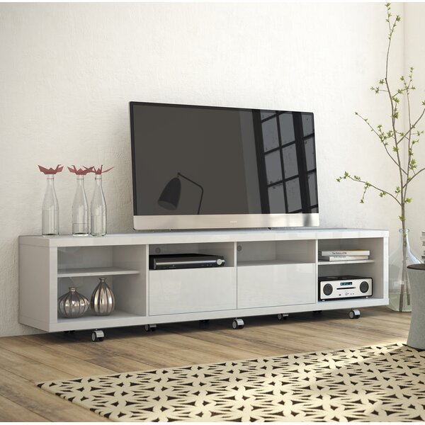 Lutton TV Stand For TVs Up To 70 Inches By Wade Logan