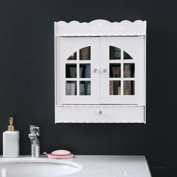 Malkha 15.36 W x 17.33 H x 6.89 D Wall Mounted Bathroom Cabinet