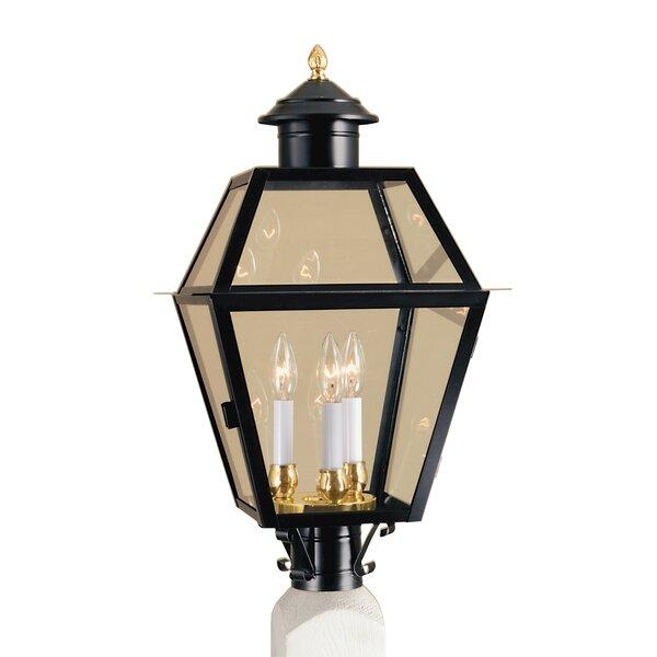 Harmony Outdoor 3-Light Lantern Head by Breakwater Bay
