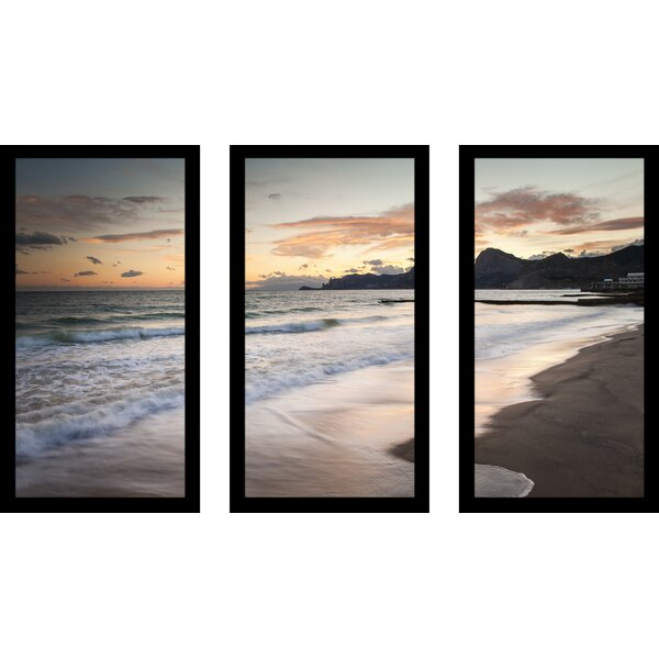 Tranquility 3 Piece Framed Photographic Print Set by Picture Perfect International
