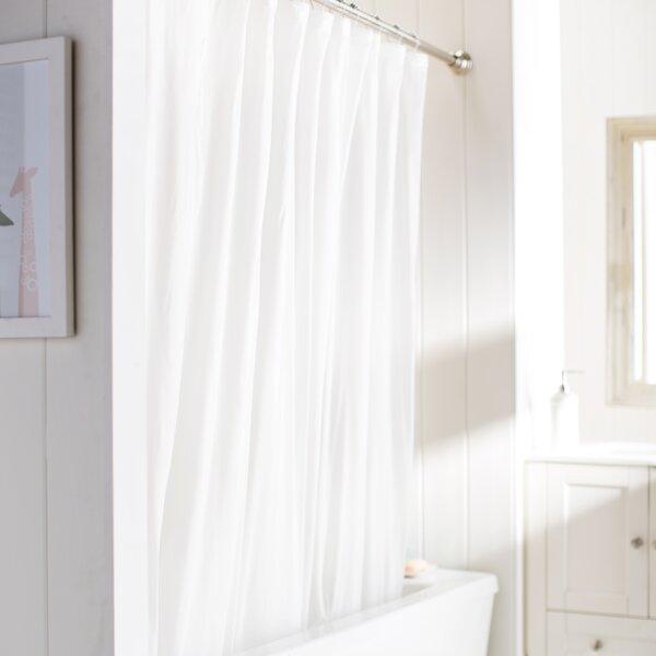 Symple Stuff Weeks Vinyl Shower Curtain Liner & Reviews | Wayfair