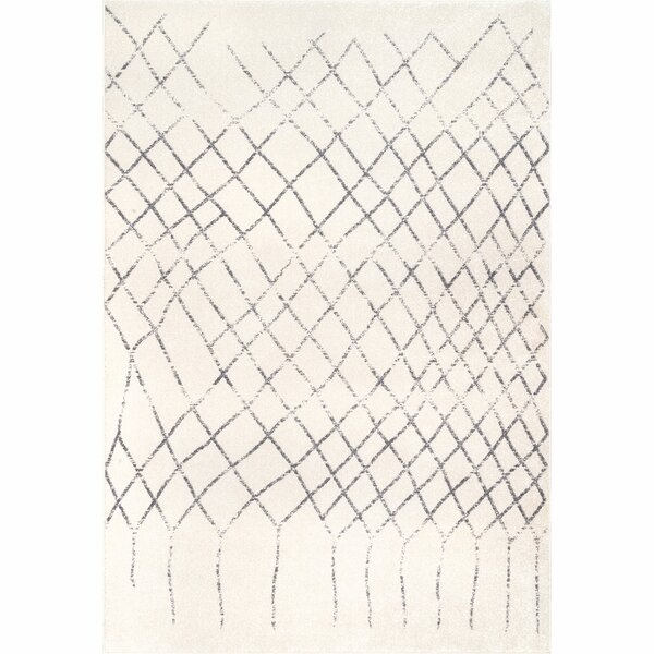 Jovita Ivory Area Rug by Bungalow Rose