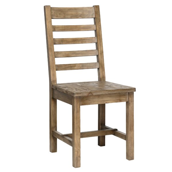 Gertrude Solid Wood Dining Chair (Set of 2) by Lark Manor