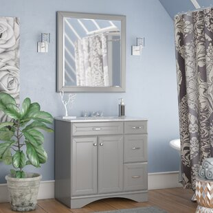 Jonina 36 Bathroom Vanity Set with Mirror ByWilla Arlo Interiors