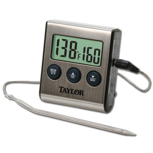 Digital Cooking Thermometer (Set of 6) by Taylor