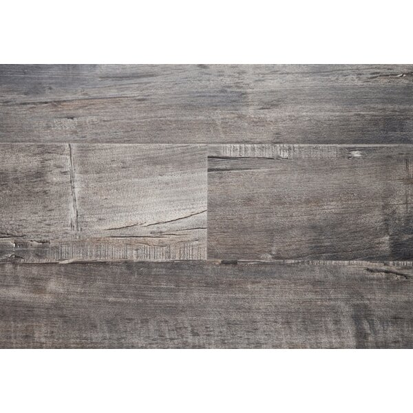 Metro 6 x 48 x 12mm Oak Laminate Flooring by Chic Rugz