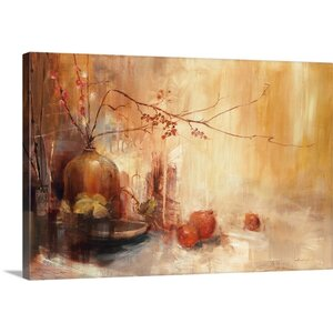 'Autumn Gold' by Simon Addyman Painting Print on Canvas by Canvas On Demand
